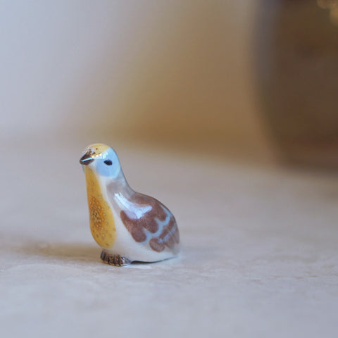 Golden Heart Dove Figure
