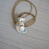 Floral Dragon Necklace