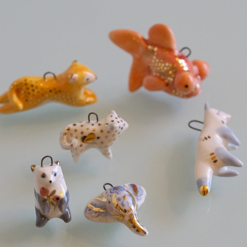 Spring Cleaning Sale- animal pendants