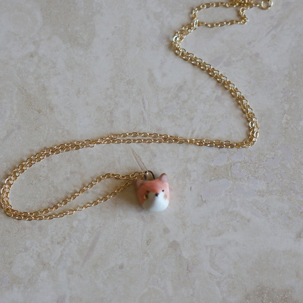 Dainty Animal Face necklace