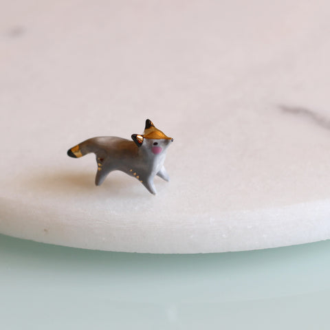 Grey Fox Figure