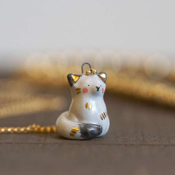 Blushing Fox Necklace