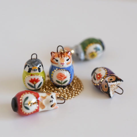 Fauna Matryoshka Necklace