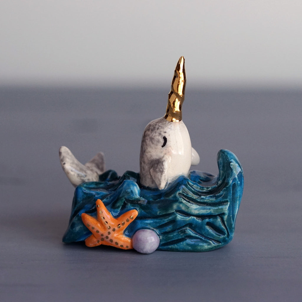 Narwhal in a Bit of Sea
