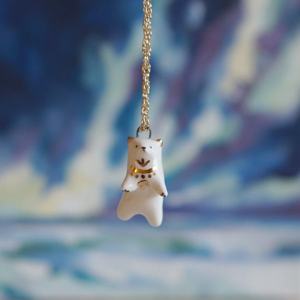 Winter Bear Necklace
