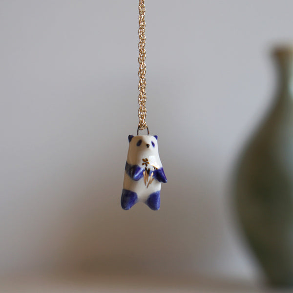 Panda Blossom Necklace