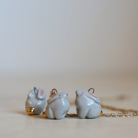Proud Bunny Necklace