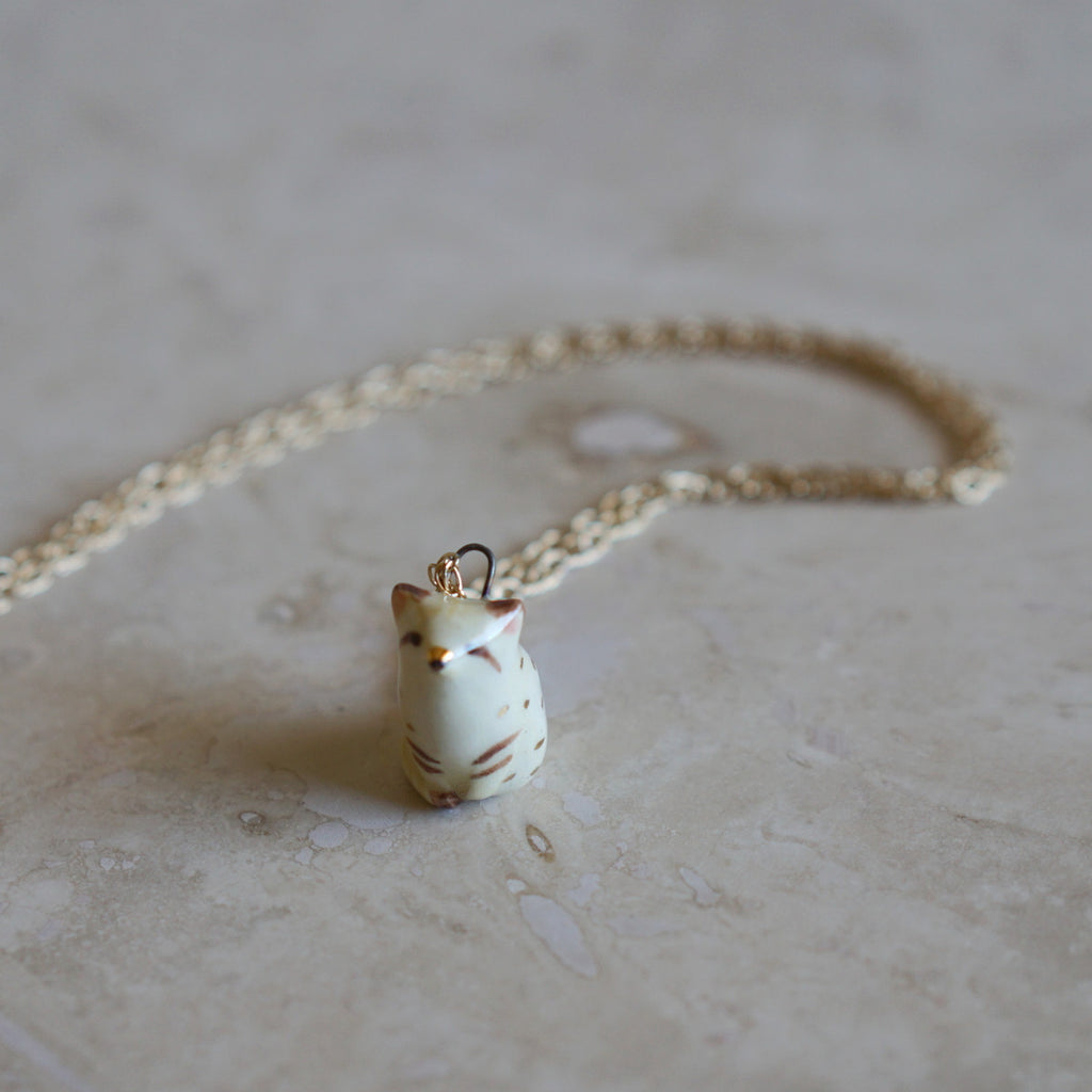 Sand Cat Necklace