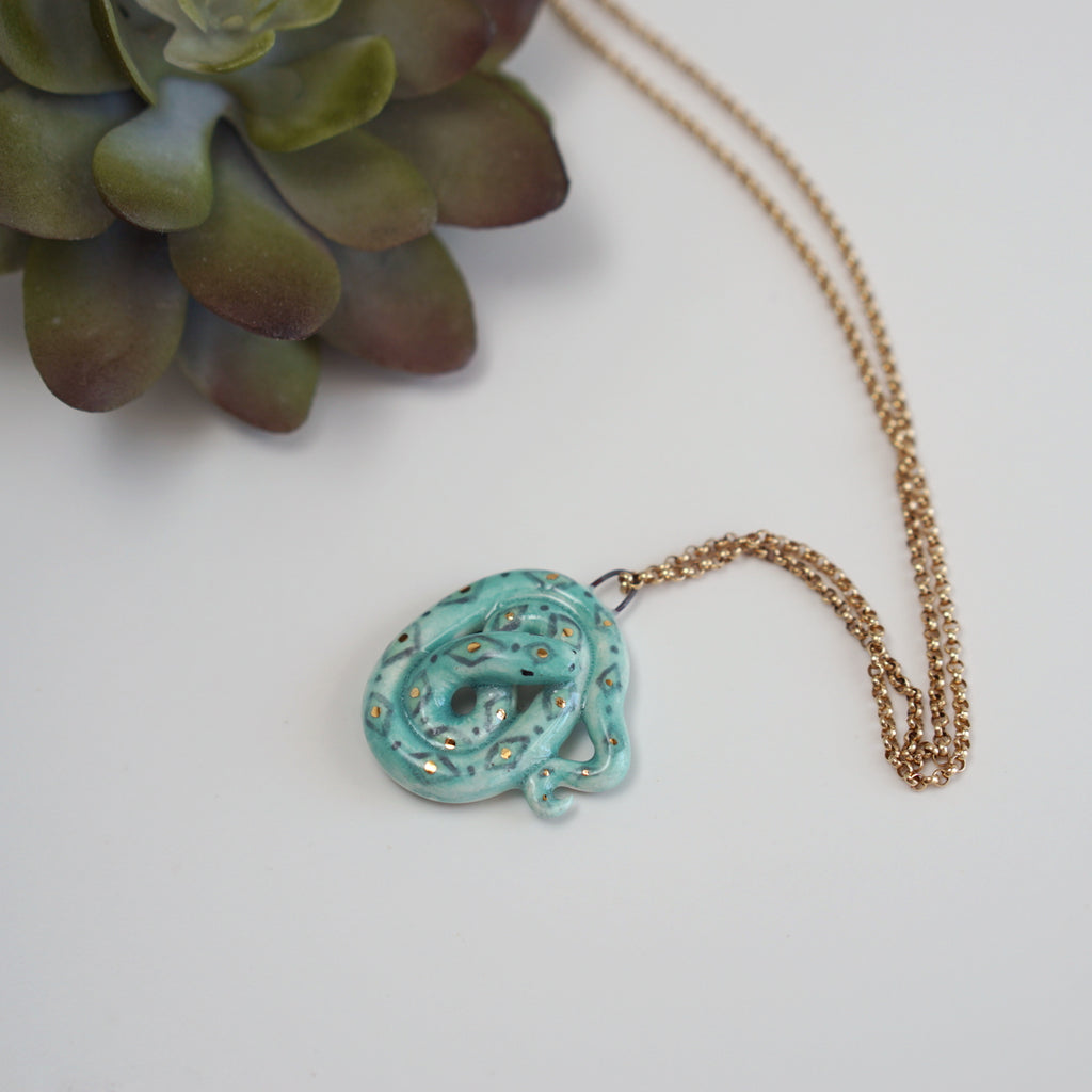 Serpent Necklace