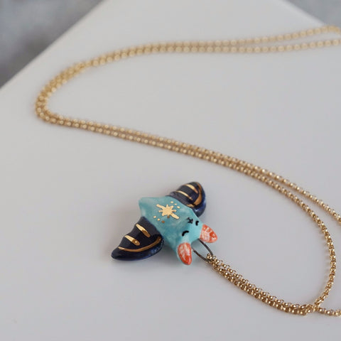 Star Bat Necklace