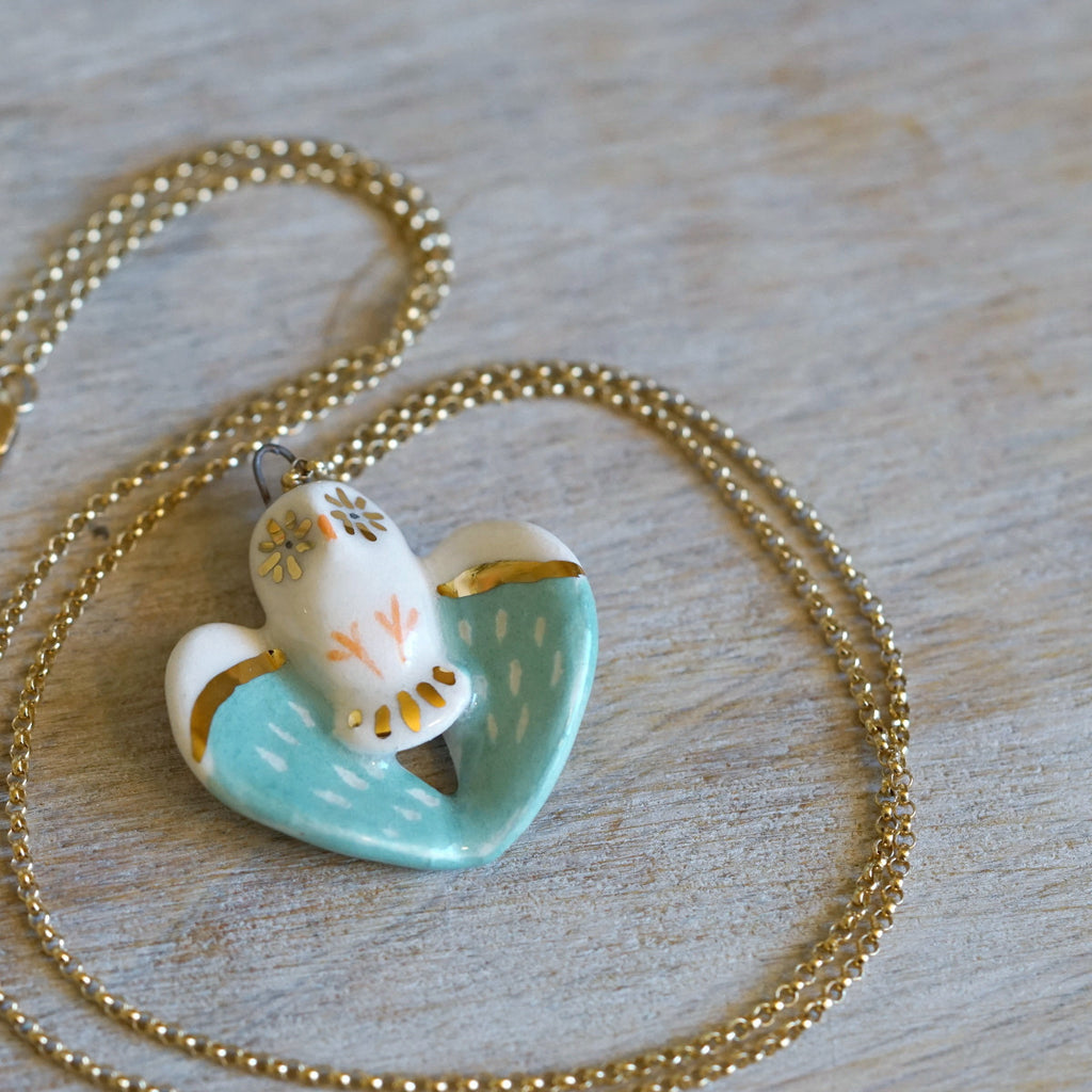 Jade Owl Necklace