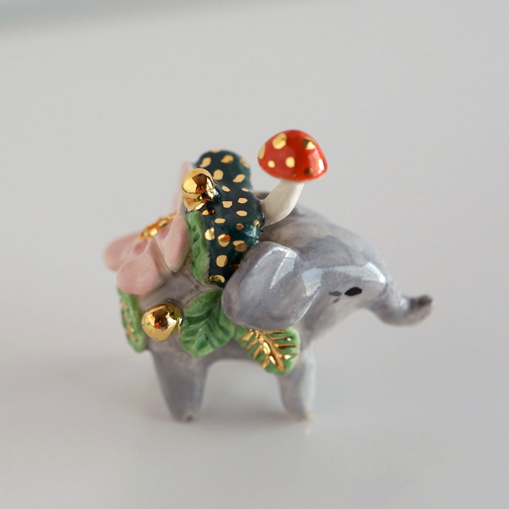 Mini Botanical Elephant
