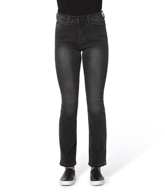 Lola Jeans - Kate High-Rise, Washes:   Black/Ash