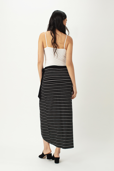Peggy Wrap Maxi Skirt