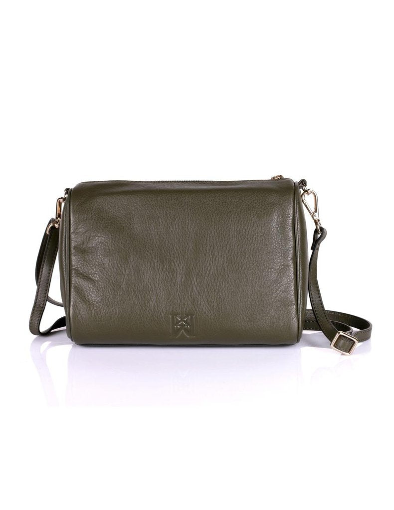 Irene Prestige Leather Crossbody Bag