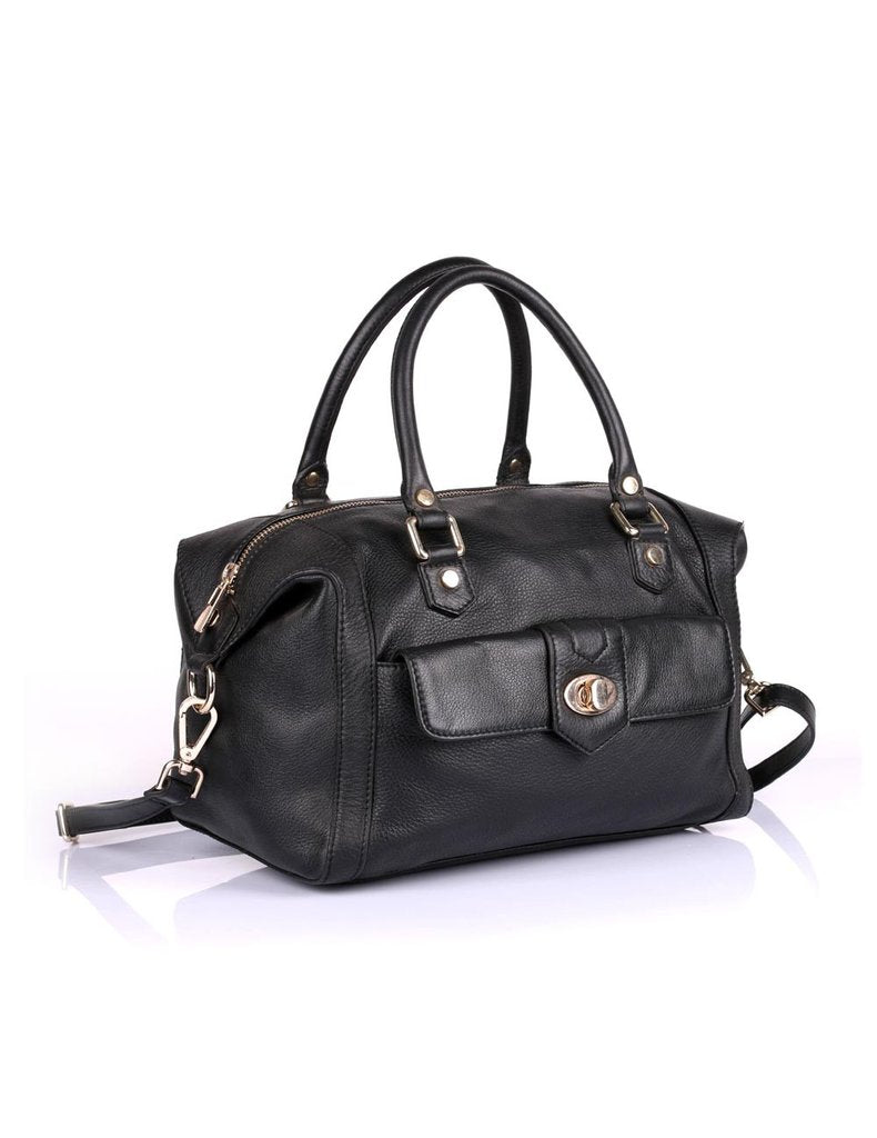 Toronto Prestige Leather Satchel