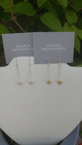 Dana Henning Circle Drop Earrings