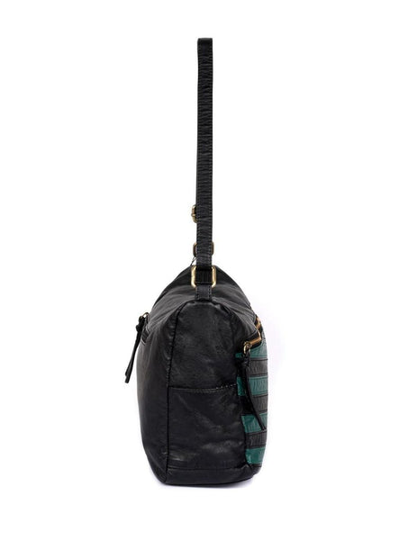 Avery Stripe Hobo Bag