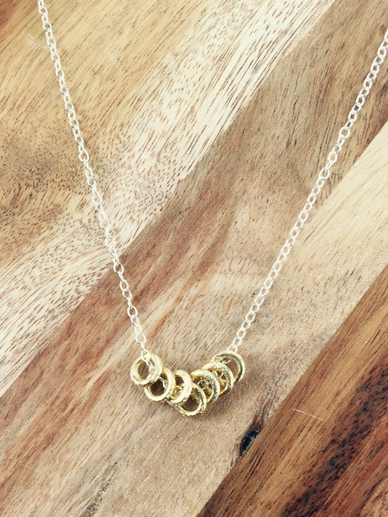 Dana Henning Seven Circle Necklace