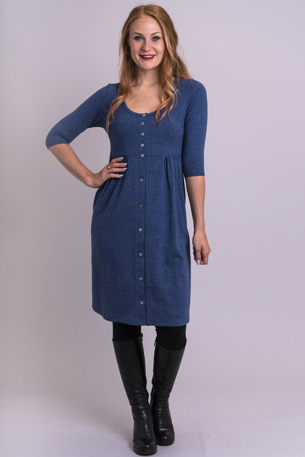 Nelly 3/4 Sleeve Dress