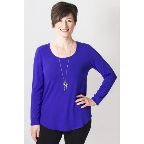 Tessa Long Sleeve Bamboo Top