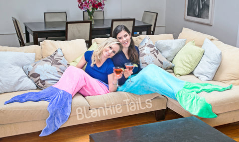 Blankie Tails Mermaid Tail Blankets