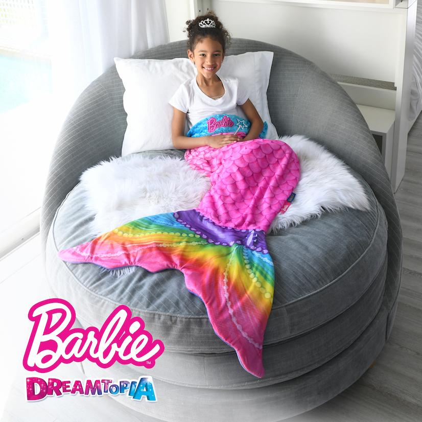 Barbie Dreamtopia Mermaid Blankie Tails