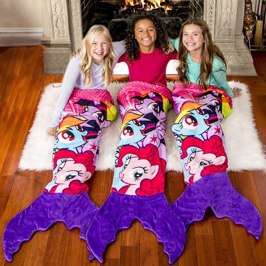 My Little Pony Mermaid Blanket for Kids