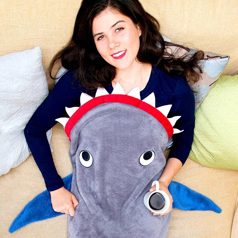 Shark Blanket for Adults and Teens