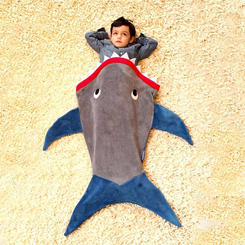 Shark Blanket for Toddlers