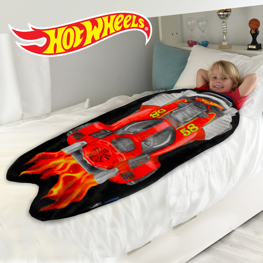 Hot Wheels Shaped Blanket from Blankie Tails