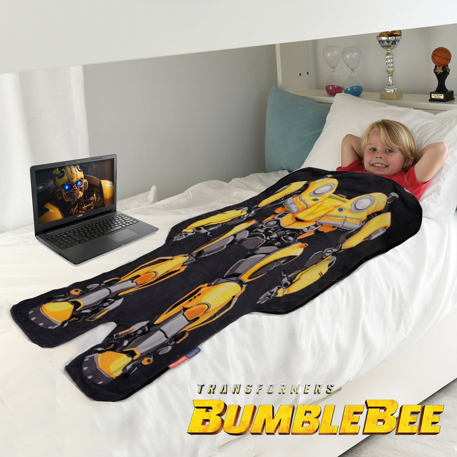 Transformers Bumble Bee Blanket from Blankie Tails
