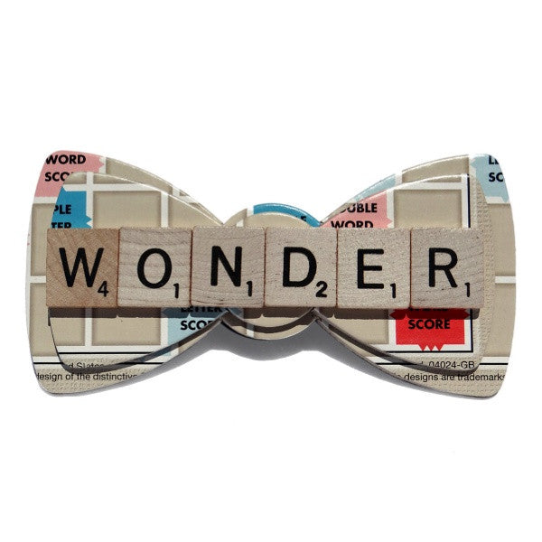 Limited Custom Scrabble Bow Tie - Wonder Lee 123