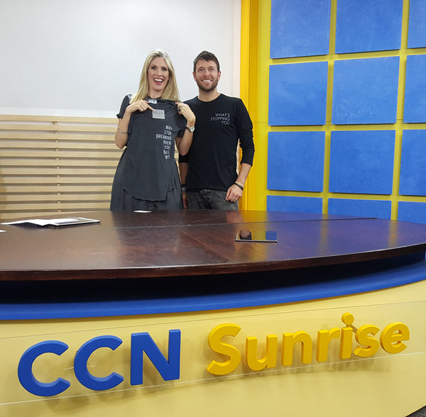 FBNW appearance on CCN Sunrise News