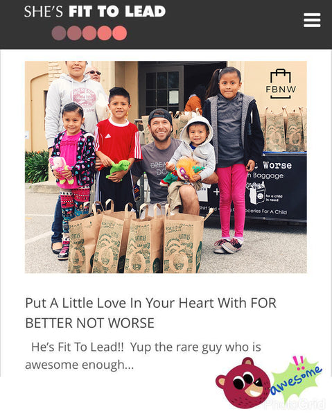 She's Fit To Lead FBNW Put a little love in your heart