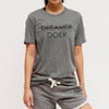 DREAMER DOER - Unisex Crew - FOR BETTER NOT WORSE Fashion That Gives Back Ending Child Hunger In The US