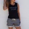 Dreamer Doer - Venice Muscle - FOR BETTER NOT WORSE Fashion That Gives Back Ending Child Hunger In The US