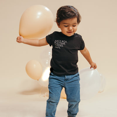 Kids Favs - Baby Tee - FOR BETTER NOT WORSE Fashion That Gives Back Ending Child Hunger In The US