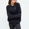 Love Over Hate - Unisex Fleece Sweater - FOR BETTER NOT WORSE Fashion That Gives Back Ending Child Hunger In The US