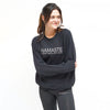 NAMASTE - Unisex Fleece Sweater - FOR BETTER NOT WORSE Fashion That Gives Back Ending Child Hunger In The US
