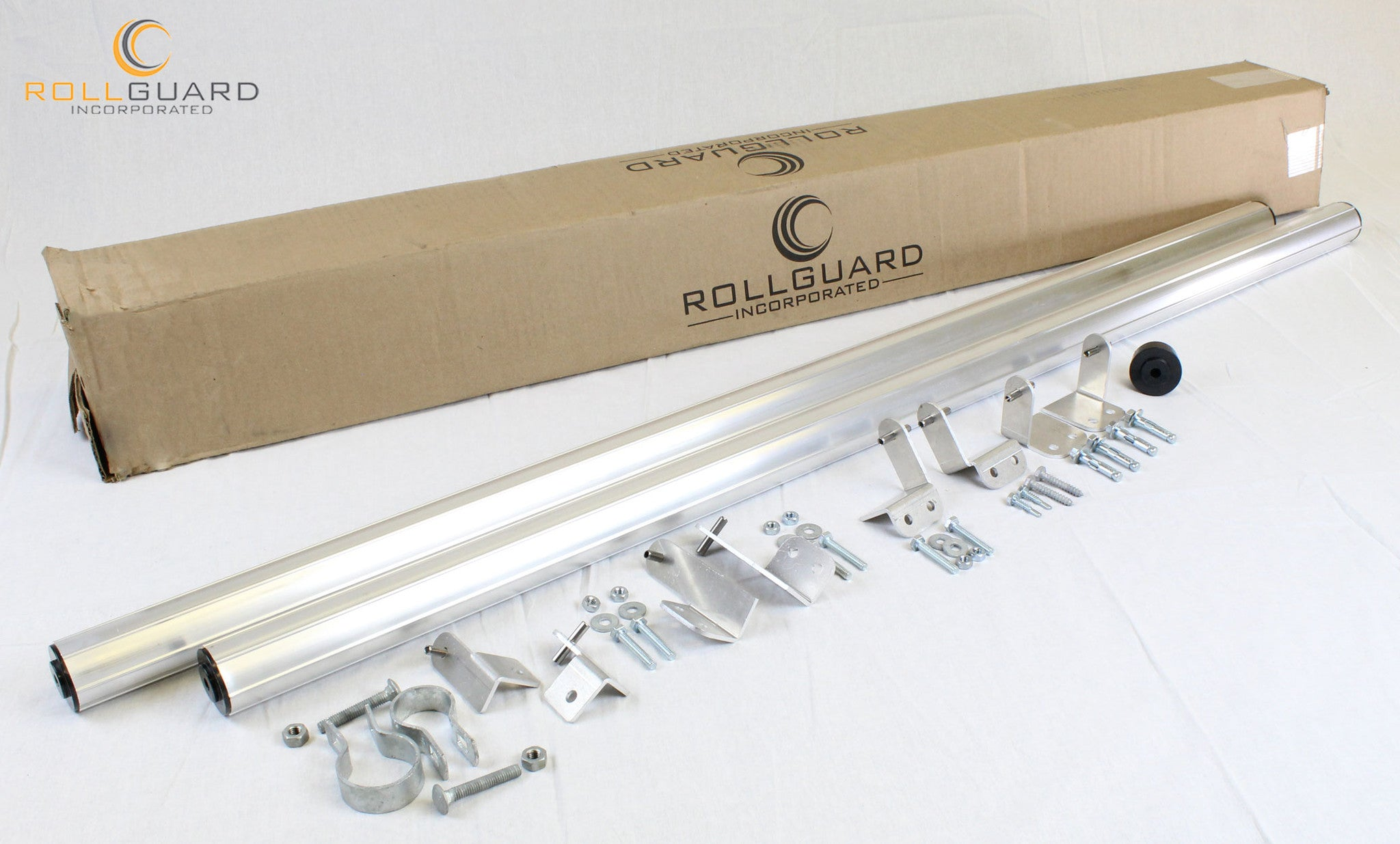 25 Foot Fence Coyote Roller Kit 7 Rollers 9 Brackets 2 End Caps