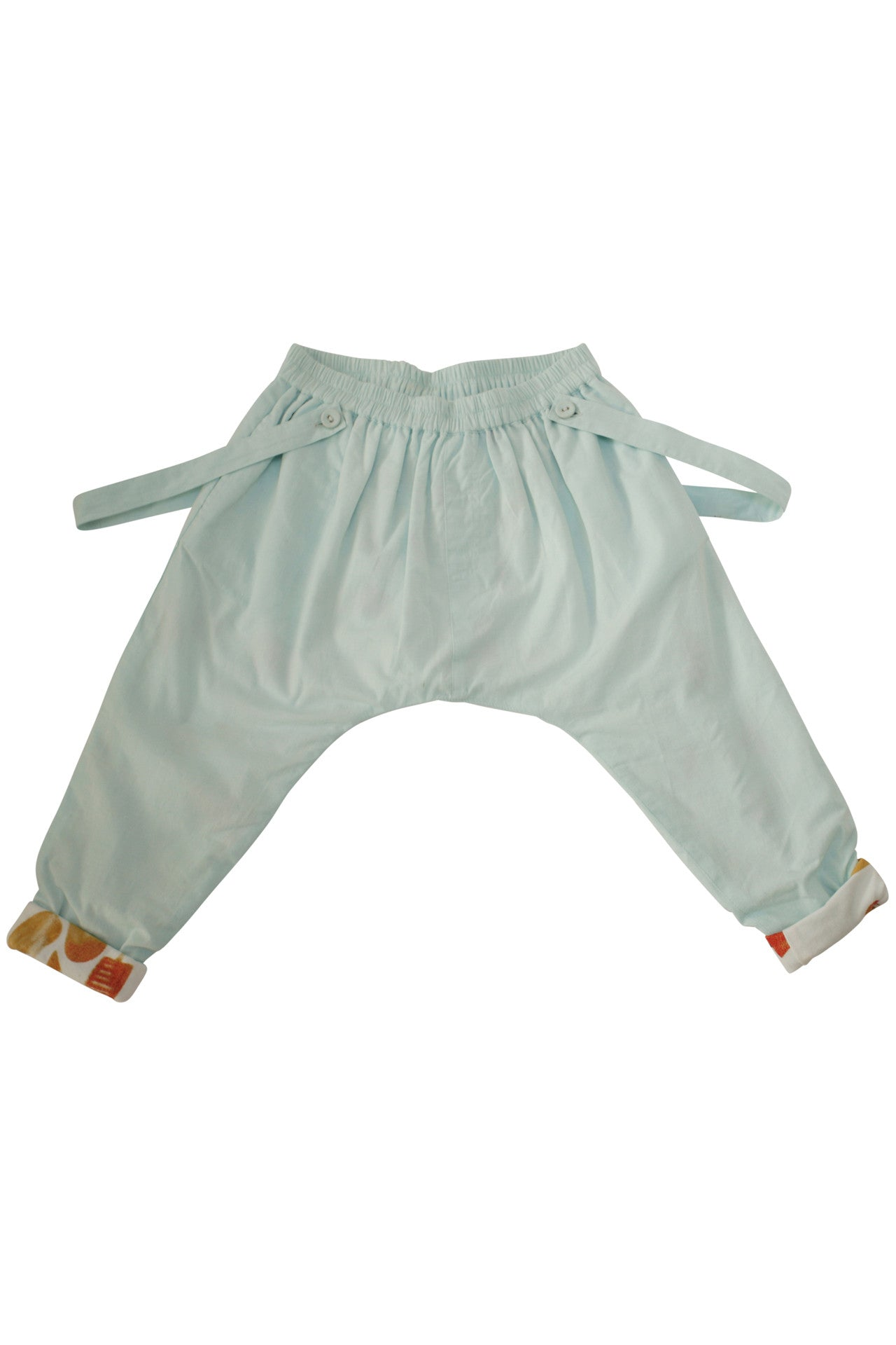 easy trouser with detachable suspenders