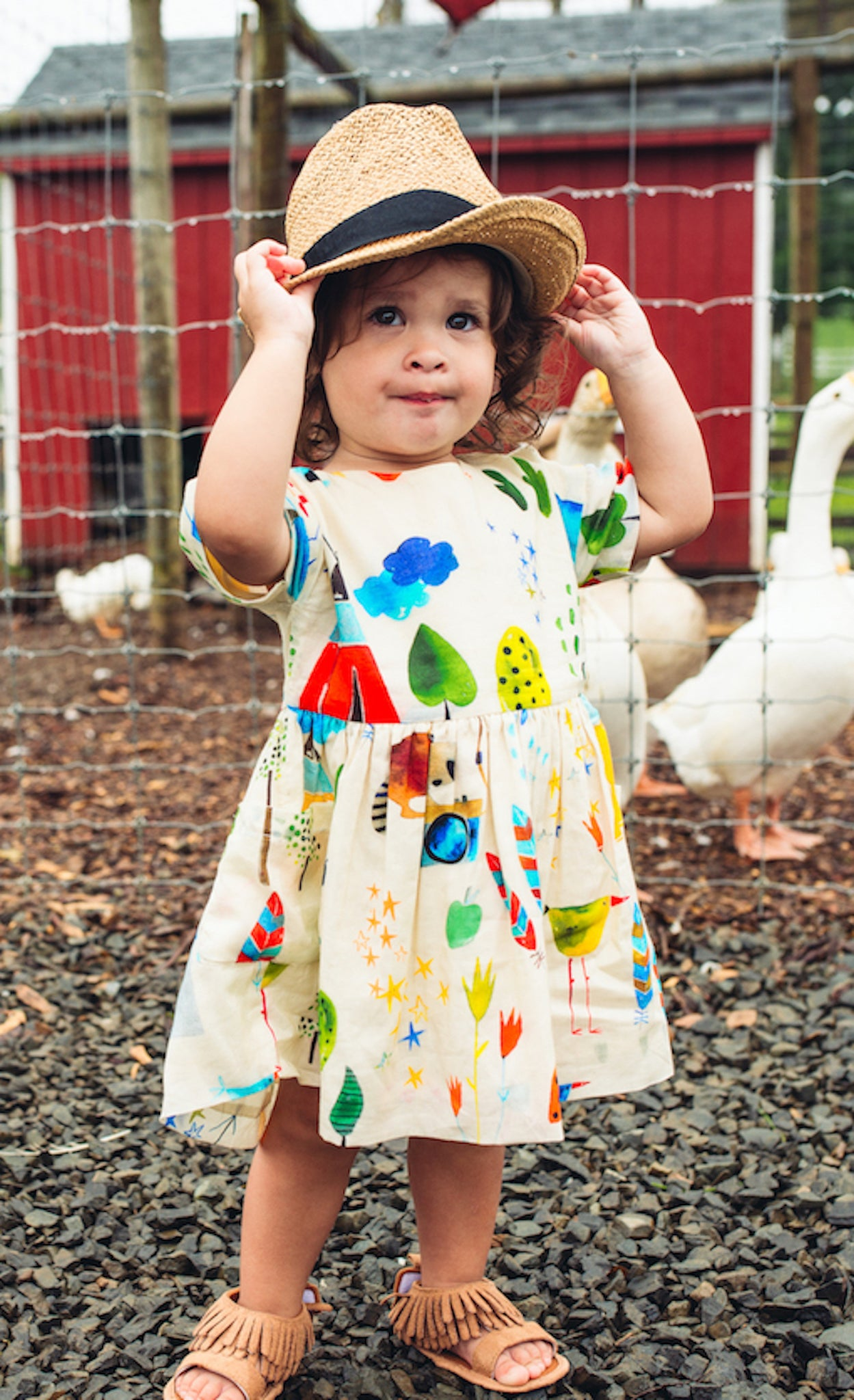 summer camp baby lila dress