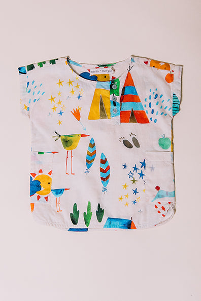 summer camp baby roy tunic