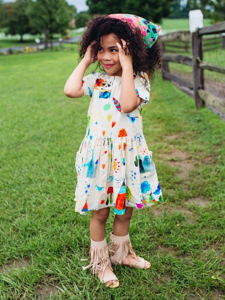 summer camp lila dress