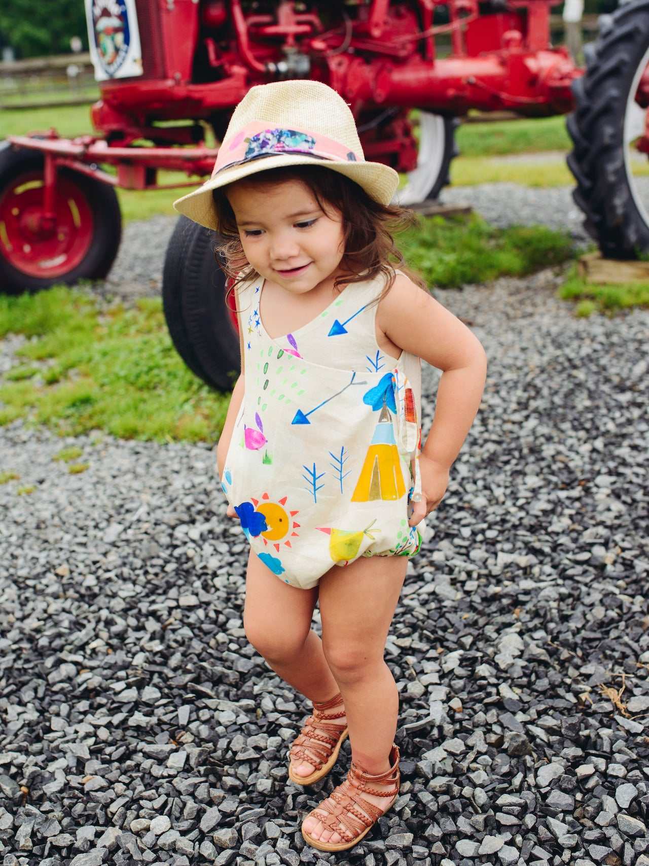 summer camp bianca romper