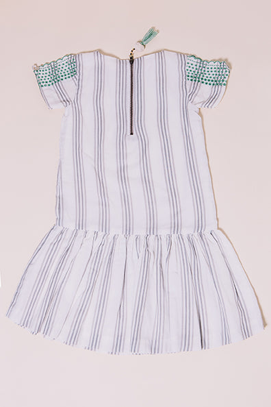 stripe sophia dress