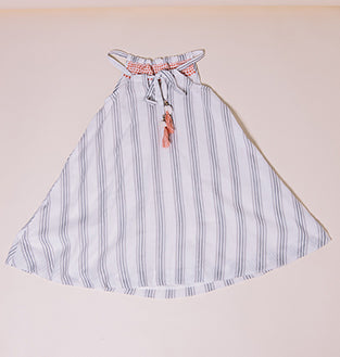 stripe radha dress