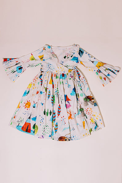 summer camp saloni dress