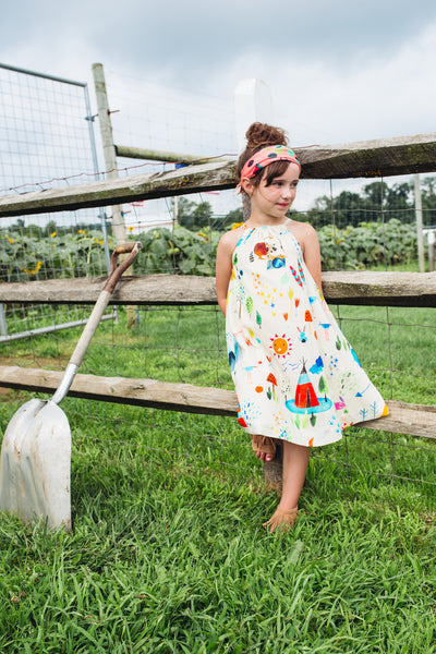 summer camp radha dress